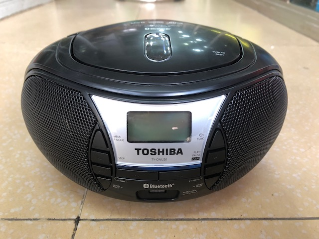 ĐÀI ĐĨA CD, USB , BLUETOOTH TOSHIBA TY-CWU20