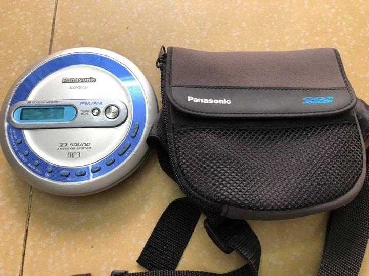 Máy nghe đĩa CD mini cầm tay, CD WALKMAN, máy cd học ngoại ngữ