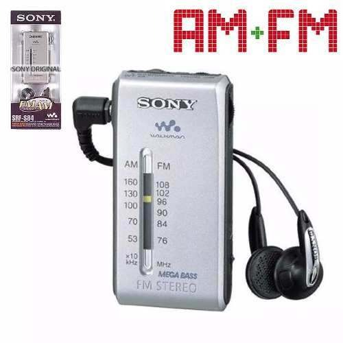 ĐÀI RADIO MINI WALKMAN SONY SRF-S84 stereo , ĐÀI CHẠY THỂ DỤC