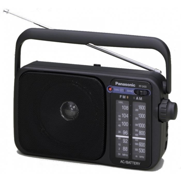 ĐÀI RADIO PANASONIC CẮM ĐIỆN PANASONIC RF-2400EB9-K phiên bản xuất Anh