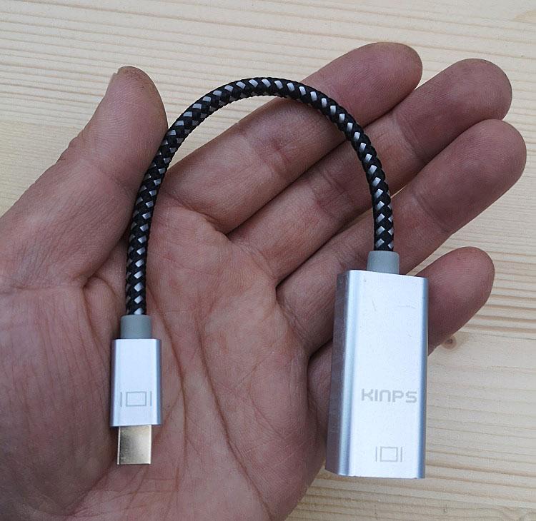 Cáp chuyển tín hiệu MINI DISPLAYPORT  ra HDMI cao cấp chuẩn