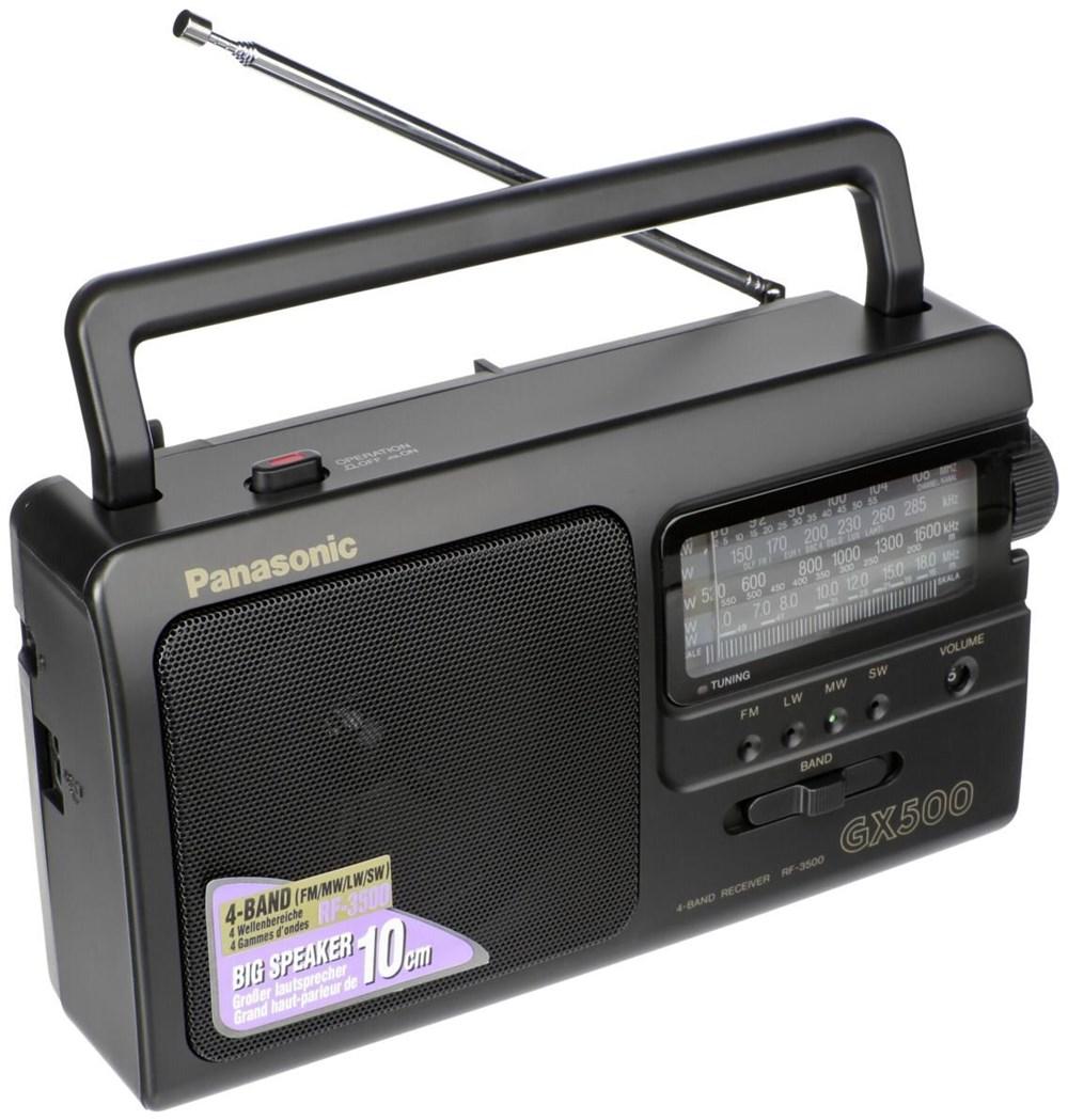ĐÀI RADIO PANASONIC RF-3500 4 băng tần cắm điện nguồn