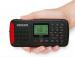ĐÀI RADIO NGHE NHẠC MP3 ĐA BĂNG TẦN BÁO ĐỘNG KHẨN CẤP ,năng lượng mặt trời  DEGEN CY-1