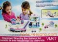 Mô hình đoàn tàu & đường ray( loại nhỏ) VM97