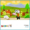 Bảng ghép hình trang trại ( loại dày) Benho YT23852