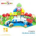 Bộ lắp ráp mô hình thành phố Benho YT5487A