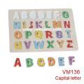 Bảng chữ in (có núm) VM136