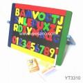 Bảng treo chữ, số màu sắc  Benho (có nam châm) YT3310B