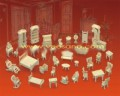Ghép 3D nội thất phòng