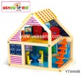 Nhà búp bê màu sắc Benho YT8449R