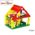 Ngôi nhà búp bê màu sắc Benho YT8449