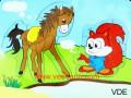 Xếp hình sóc & ngựa VDE