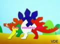 Xếp hình khủng long VDE