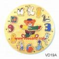 Đồng hồ các con vật VD19A
