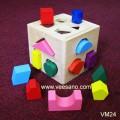 Hộp thả hình khối màu sắc VM24