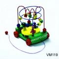 Xe kéo luồn hạt bàn quay VM119