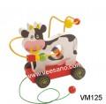 Xe kéo luồn hạt con vật VM125