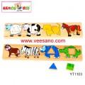 Bảng phân biệt vật nuôi - Hình khối Benho YT1103