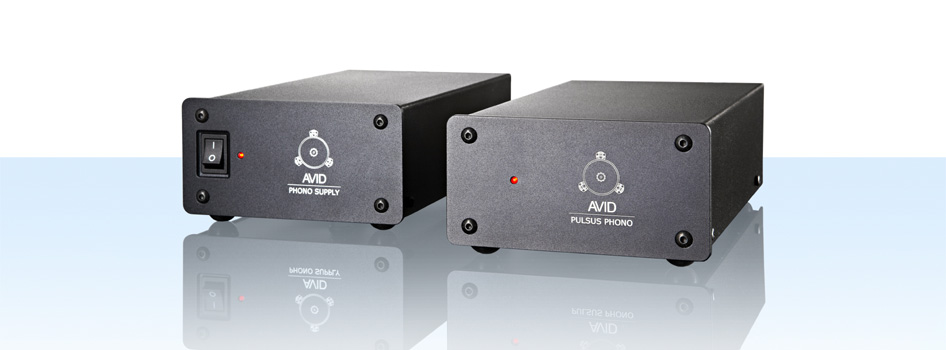 AVID hifi  PULSUS phono stage complete 230v EU