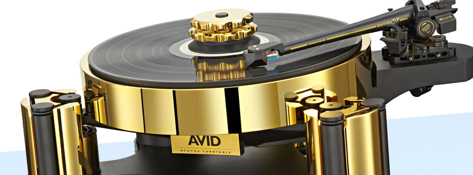 AVID hifi ACUTUS reference  SP (gold )
