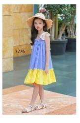 7776. Váy thô Hàn Quốc 2 dây