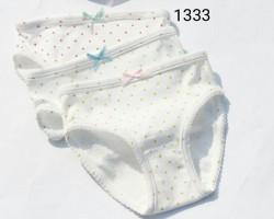 0105.  Túi quần chip tam giác 3 chiếc chấm ri 20 - 458qcf