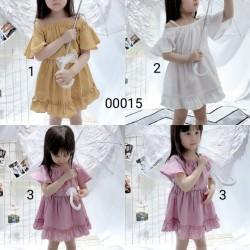 00015. Váy Hàn Quốc trễ vai