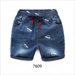 7609. Quần jeans Hàn Quốc hình ô tô