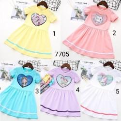 7705. Váy Hàn Quốc kim sa biến hình
