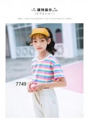 7749. Bộ Hàn Quốc kẻ cầu vồng