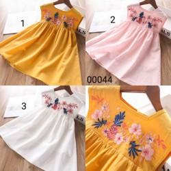 00044. Váy thô Hàn Quốc hoa ngực