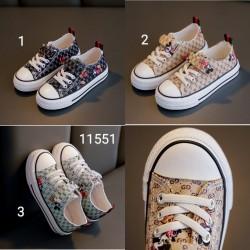 11551. Giày vải thể thao Mickey mouse Giá lẻ: M 205k, L 215k
