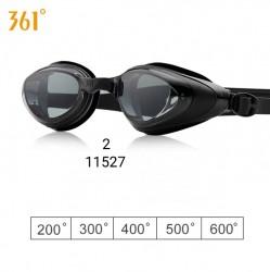 11527 Kính bơi 361 DÀNH CHO NGƯỜI CẬN THỊ - Giá lẻ: Kính đen 185k, kính màu 200k