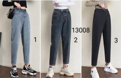 13008. Quần jeans lưng chun