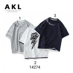 14274. Áo phông tia chớp hãng AKL