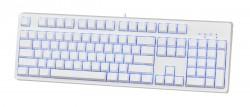 Bàn phím chơi game cơ E-DRA EK3104 Ice White
