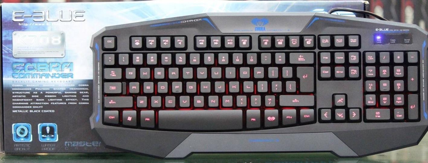 E-BLUE™ - Cobra Commander - EKM708