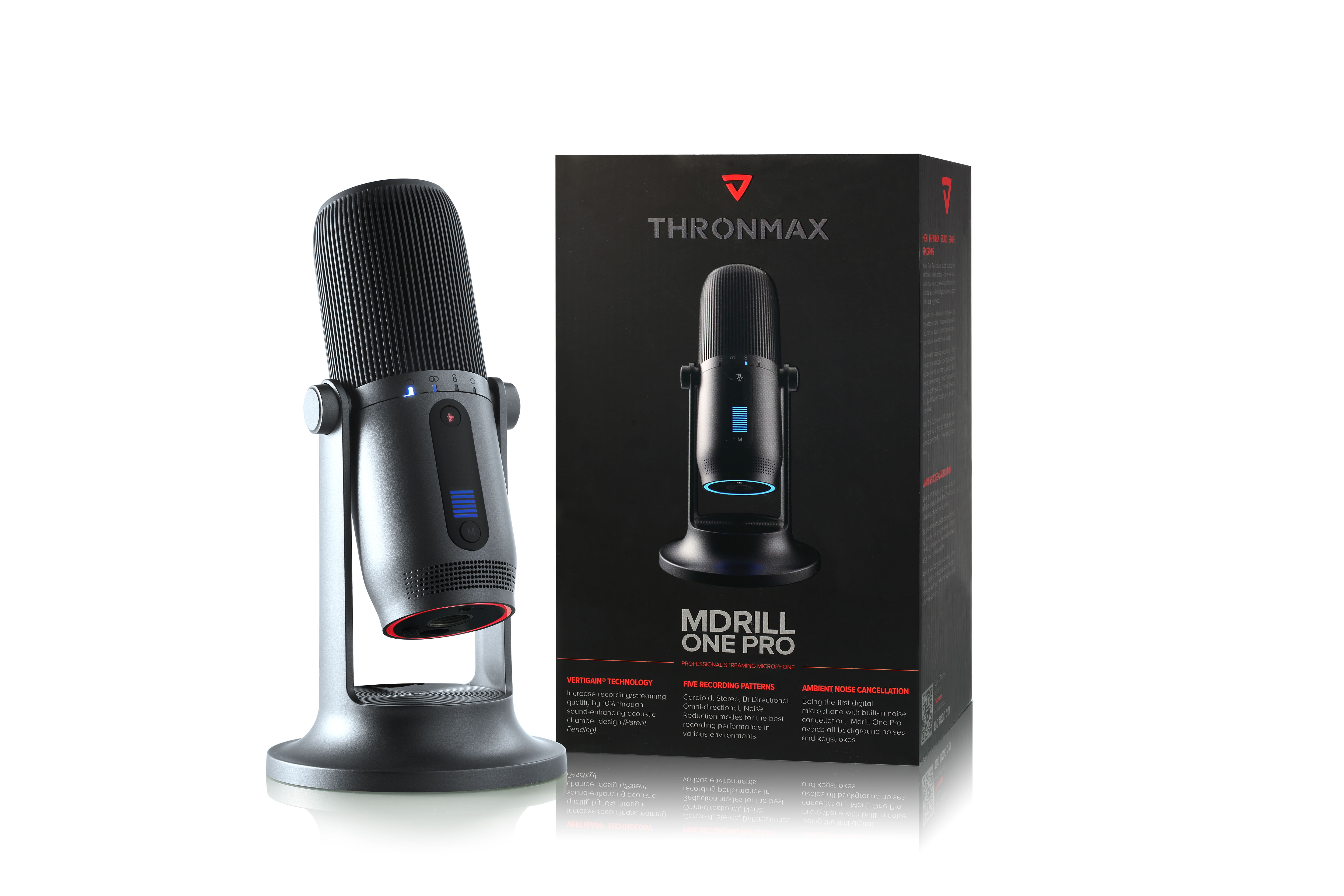 Microphone Thronmax Mdrill One M2 Slate Gray