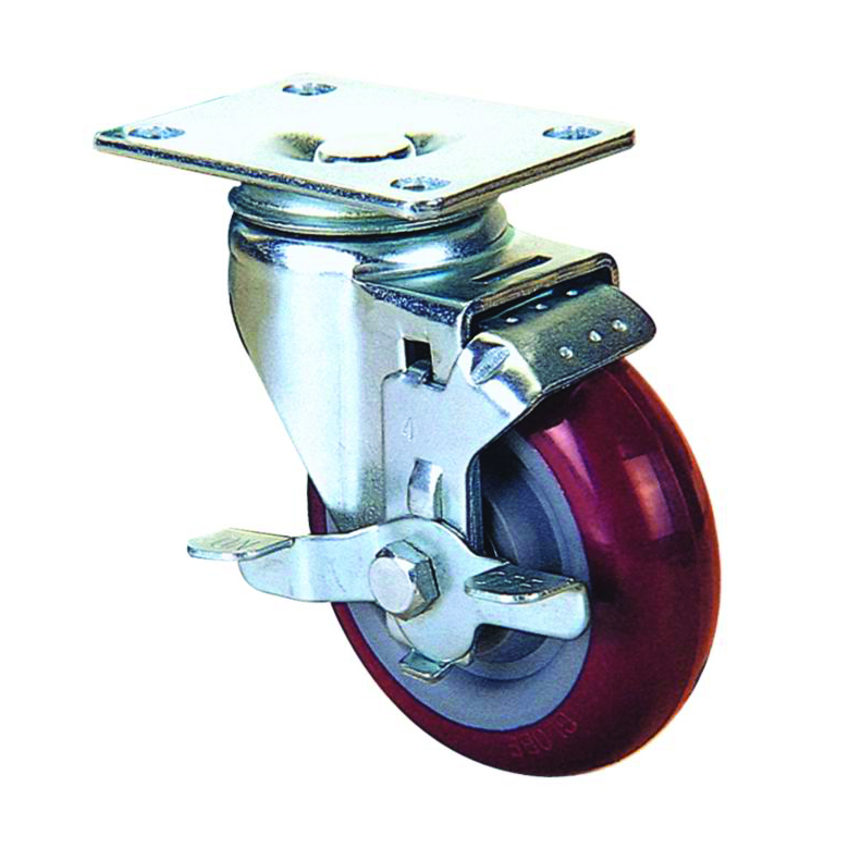 PLATE TOP SWIVEL WITH LOCK