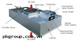Quạt lọc khí phòng sạch, FFU, HEPA filter
