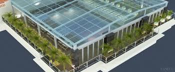Công trình Mái kính nhà E tầng hầm Ecopark