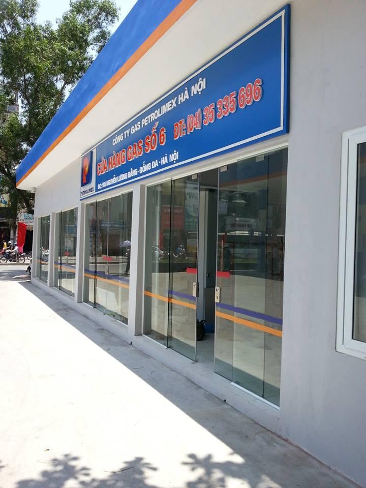 Công trình cây xăng 183 Nguyễn Lương Bằng