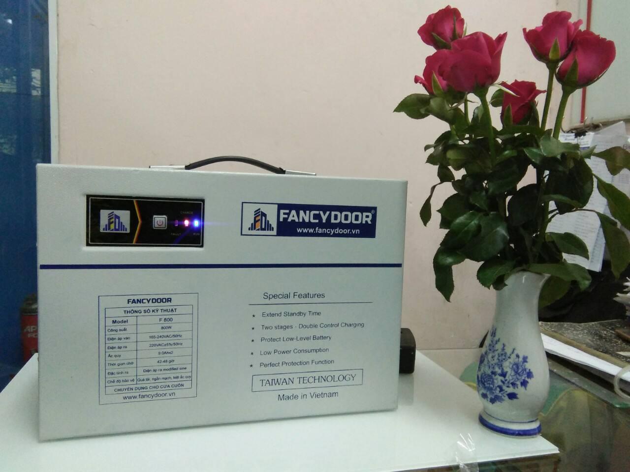 Lưu điện fancydoor F800
