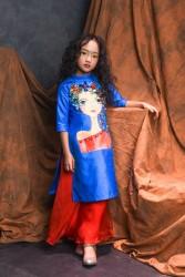 Áo dài cách tân cho bé gái BG1705