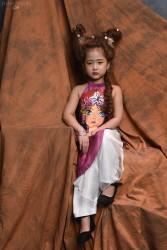 Áo dài yếm cho bé gái YBG1705