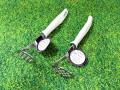 Dụng cụ dầm nhuyễn củ, quả bằng inox KAI (Cán trắng)