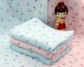 Khăn tắm Nhật Nissen mẫu chuồn chuồn kim (size to)