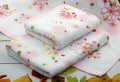 Khăn tắm Nhật Nissen mẫu hoa mẫu đơn (size to)
