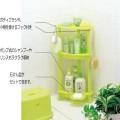 Kệ góc tam giác để đồ dùng nhà tắm (màu xanh)
