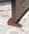 Set 2 dụng cụ chặn cửa nhựa đàn hồi